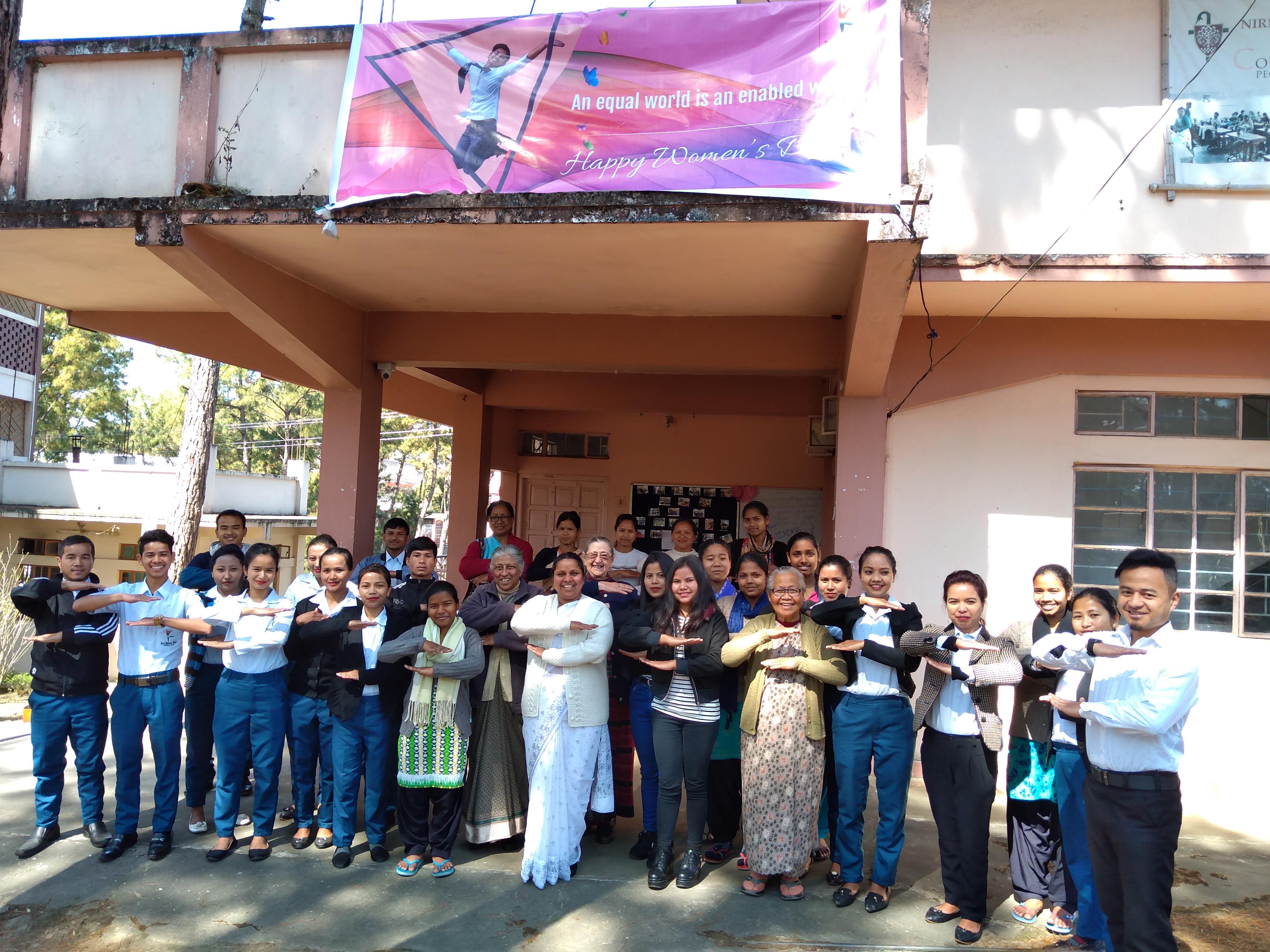 Don Bosco Tech (Berhampur, Odisha) organized a bonding and