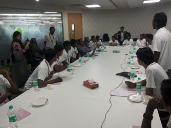 Trained electrical alumni of schneider electric india foundation meets at bangalore - Schneider electric india offices ...